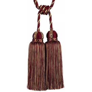 Double Tassel Tie-Back Art. 4110-20 7112