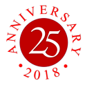 Timeline 25th Anniversary Logo